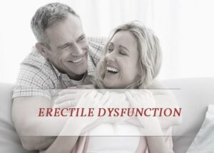 man suffering from erectile dysfunction